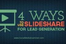 Social - Slideshare / Infographics, articles and other resources on SlideShare, presentations / by the Web Chef