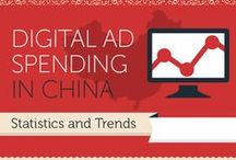 Global Marketing / Infographics, statistics about traditional and digital marketing outside of the United States