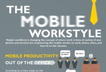 Business - Digital Workplace / Mobile workplace, remote workplace, working from home, telecommuting