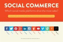 Social Business and Commerce / Social Commerce, Social Business infographics, whitepapers, ebooks, reports