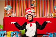 Enzo & Valentina's Seussville Carnival / When you can't decide on a Dr. Seuss character but you also want a carnival theme...... Go with a Seussville Carnival