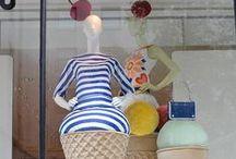 Retailing - VM Ice Cream  / Ice cream cone used in visual merchandising