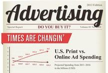 Advertising / Cross platform ad statistics, examples, figures, facts, infographics / by the Web Chef