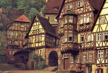 Town & Village / medieval inspiration / by S.D.