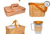 Game Day Must Haves! / Game Day Chevron! Sport your favorite team.