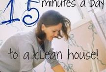 """whistle while you CLEAN"" / Great tips or products to help you clean!"