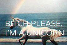 { unicorns } / by Jessica Bensaid
