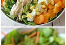 """SALAD, with a side of dressing"" / Salads I love or would love to try!"