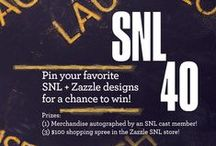 * Official SNL Customizable Gifts * / Did you know that all of these designs were created by SNL fans like you? All are customizable with text and images with just a few clicks of a button at www.zazzle.com/snl+gifts / by Zazzle