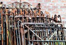Vintage gate Love
