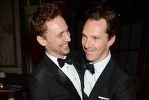 Tom & Benedict / Hero Inspiration and Genuine Admiration for the talents of these two men. There is NO other Sherlock and there is NO other Loki. These men nailed these characters! And YES it is a fact that a woman can admire a couple of guys without feeling the urge to have their babies. Sheesh / by Monica Burns