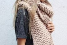 Huge Scarves / fashion tips how to wear a big scarf