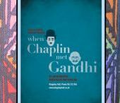 When Chaplin met Gandhi / tells the story of Gandhi's remarkable 1931 visit to London, where he spent twelve weeks in the East End. Whilst staying at Kingsley Hall in Bow, Gandhi met with local children, teaching the youngsters from the rough-and-tumble streets of East London his philosophy of non-violent resistance. more at tslbooks.uk/drama