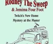 Chimney Sweep Series / Rodney the Chimney Sweep and his daughter Jemima 'Four foot' have the luck of chimney sweeps. Join them on their adventures. Help create their environment with their interactive books from tslbooks.uk