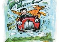 Michael's Magic Motor Car / Michael embarks on an adventure after his Grandad restores a car Michael found in a ditch nearby. Together with the neighbour's dog, Goldie, they visit the Lochness Monster more at tslbooks.uk/authors/ray-wooster