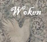 Woken / Sue Hampton's second book of short stories. As with Ravelled, the stories in Woken experiment with different styles. Woken is more political reflecting society in 2017.  more at tslbooks.uk/authors/sue-hampton