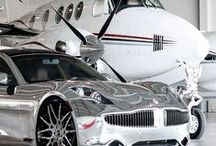 cars, yachts, and planes, oh my......
