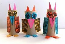 Owl Crafts / art, crafts, and activities for kids with an owl theme