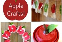Apple Crafts / by The Crafty Crow