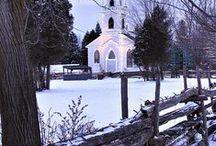 ~Churches & Steeples~ / by Lori