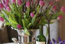 ~Floral Displays, Tablescapes~