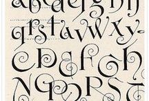 Fonts, Fonts, and more Fonts / by Anna Wright Potter