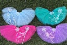 TuTu's & Hair bows / pretty's for my girls and ideas for bows & tutu's