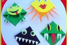 lavoretti e giochi per bambini/kid stuff / idee lavoretti per bambini - some ideas for kids craft