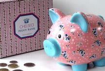 Money Boxes / by Sparkle Home & Gifts