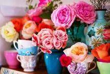 Colour Ideas / Inspiration of pretty colour combinations.