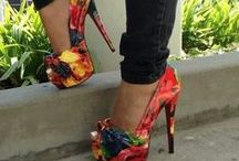 """Heels / """"The average woman falls in love seven times a year. Only six are with shoes."""" Kenneth Cole"""