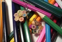 riciclo matite colorate/colored pencil butts recycling / come riciclare i mozziconi di matite colorate/how to upcycle colored pencil butts