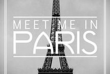 "| À • P α r i s | / ""Paris is always a good idea."" - Audrey Hepburn as Sabrina Fairchild in Sabrina / by Roulα Intou"