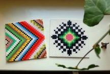 Hama / Perler / Melty Bead Crafts / by The Crafty Crow