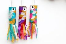 Recycled Cardboard Tube Crafts / by The Crafty Crow
