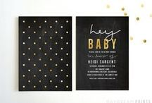 Gold & White & Black Party / by Ciera Holzenthal of Ciera Design Studio