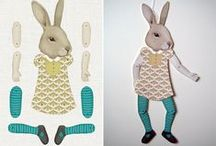 I ♥ TOYS | articulated paper dolls
