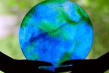 Earth Day Is Everyday! Crafts For Kids / by The Crafty Crow