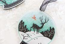 Christmas love / christmas and winter holiday crafts, decor and inspiration