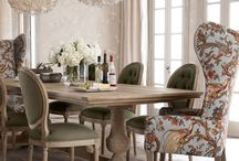 Dining Areas / Interior spaces, phat pads and beautiful items for the home.
