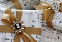 Gift Wrapping Ideas / by Tammy Hensley