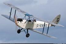 de Havilland / Geoffrey de Havilland 's aircraft company's magnificent flying machines. / by Elizabeth Davis
