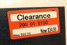 Smart Shopper / Bargain shopping, coupon codes, discounts, savvy shopper