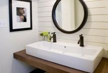 THE BATHROOM / The place in your home where you can totally relax, indulge in your favourite bath products and take some me-time. And here are some of my favourite bathrooms.
