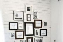 WALL IDEAS / Ideas on how to make your walls look cuter, better, cooler, brighter. : )