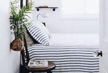 Bedrooms / Bedrooms are sanctuaries so make them the best you can.  Plenty of inspiration here.