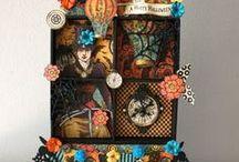 Halloween w G45  Xyron & Petaloo / Lots of super SPOOKY & PRETTY ideas for your Halloween party or home!  Eekkk....