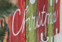 Christmas: Decor and DIY / Christmas decorations and ideas / by Sara Scott