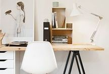 Workspaces / Decor of places to work
