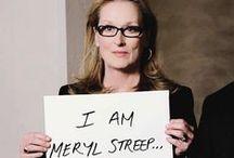   meryl streep -my future self-   / by Kristen Carter